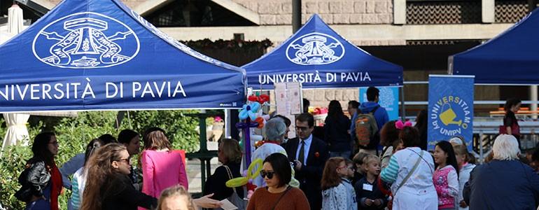 L'Università di Pavia ha portato la ricerca al centro