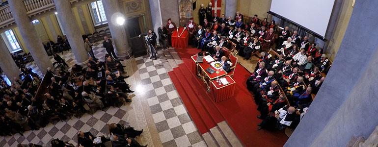 L'Università di Pavia inaugura il 655° Anno Accademico. Ospite Giorgio Napolitano (foto e video)