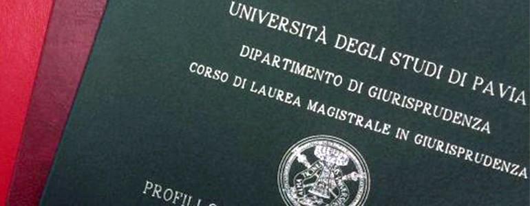 Più di 100mila euro per le tesi degli studenti dell'Università di Pavia