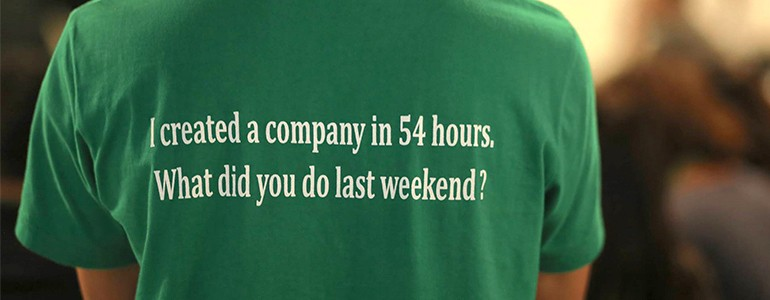 Crea la tua startup in 54 ore