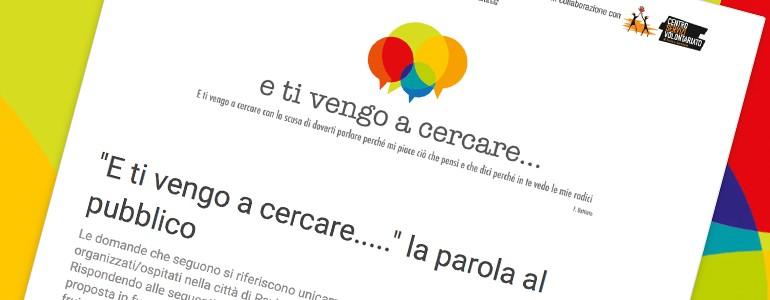 Eventi a Pavia: partecipa al questionario
