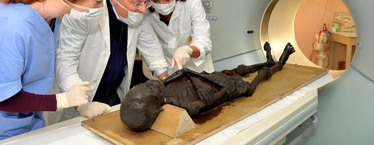 Ecco la mummia egizia dell'Università di Pavia