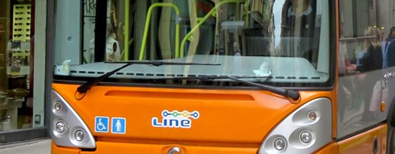 Autobus, richiedi la tessera Line per il secondo semestre