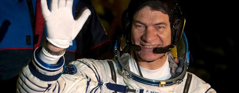 L'astronauta Paolo Nespoli all'Università di Pavia