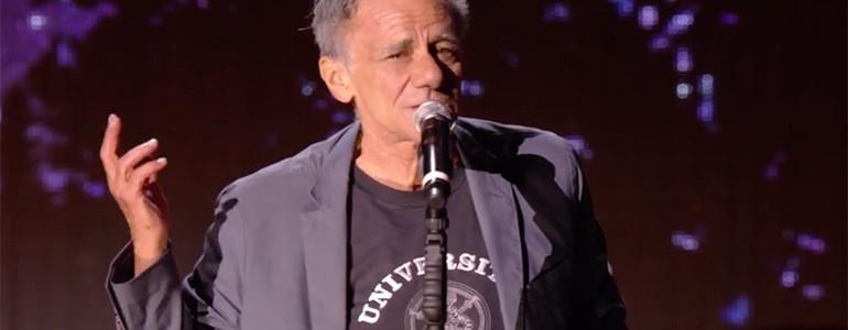 Roberto Vecchioni ambasciatore unipv a Musicultura 2017