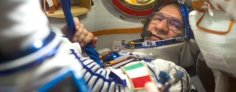 Paolo Nespoli torna nello spazio, sulla ISS anche un esperimento dell'Università di Pavia