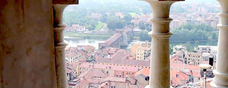 Pavia e la cupola del Duomo da una prospettiva inedita (video)