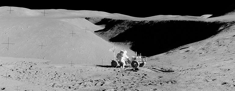 L'Università di Pavia per lo studio del suolo lunare
