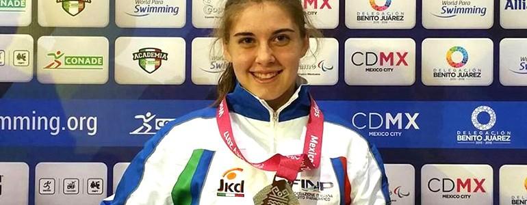 Mondiali di nuoto paralimpico, tre ori e tre argenti per Monica (video)