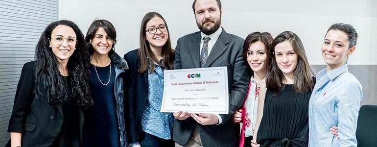 Mediazione, 7 studenti unipv premiati alla competizione italiana