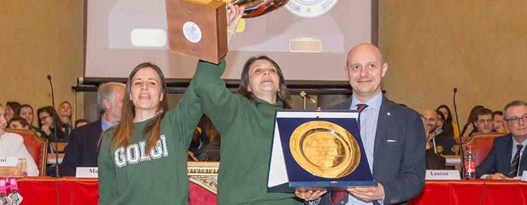 L'Università di Pavia inaugura l'anno sportivo 2018 (foto)