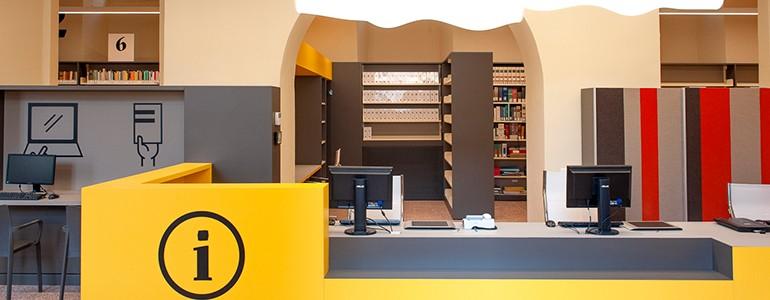 """Su """"Abitare"""" la nuova biblioteca dell'Università di Pavia (foto)"""