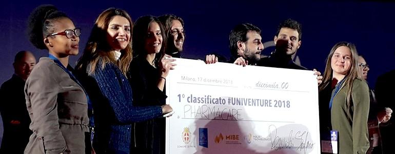 UniVenture 2018, le start-up degli studenti unipv premiate con 25mila euro