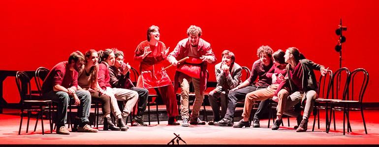 """Unipv-Fraschini, in scena gli studenti del """"corso attori"""" (foto)"""