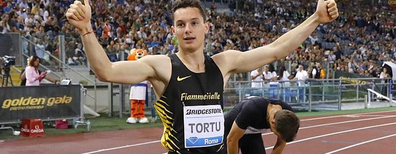 Filippo Tortu inaugura l'anno sportivo dell'Università di Pavia