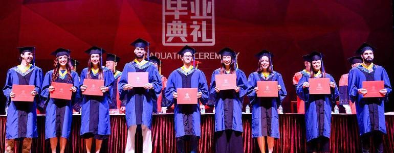 A Shanghai la cerimonia di laurea degli studenti unipv del 'Double Degree' in Architettura
