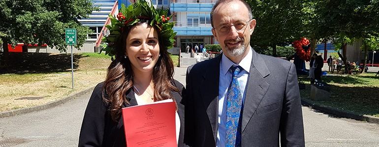 Prima laureata alla magistrale Unipv-IUSS in 'Civil Engineering'