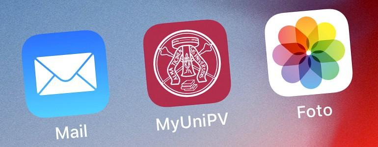 L'app ufficiale per gli studenti dell'Università di Pavia (installa)