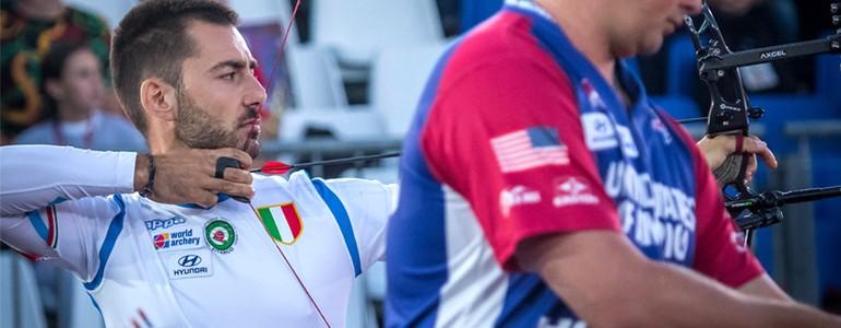 Tiro con l'arco, Mauro Nespoli argento ai mondiali. Già qualificato per Tokyo 2020