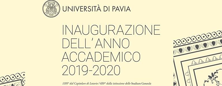 2 dicembre, l'inaugurazione dell'Anno Accademico dell'Università di Pavia per la prima volta al Fraschini