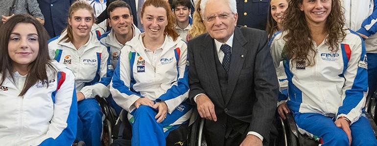 Monica Boggioni ricevuta dal Presidente della Repubblica Mattarella: «siete una magnifica rappresentazione dell'Italia»