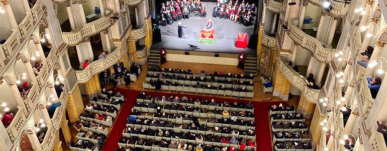 L'Università di Pavia inaugura l'Anno Accademico 2019/20, il primo discorso del Rettore Svelto (video integrale)