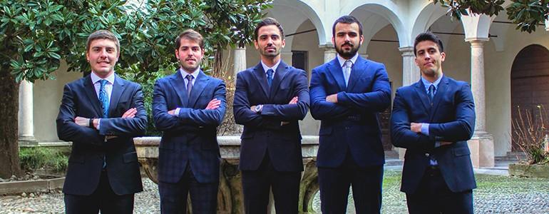 Finanza, il team dell'Università di Pavia in gara sulla Ferrari