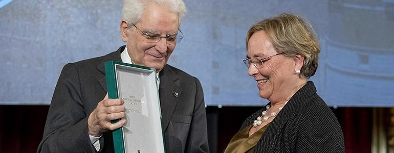 Quirinale, la prof. Alessandra Albertini nominata Commendatore. Aveva donato il suo TFR ai giovani ricercatori precari