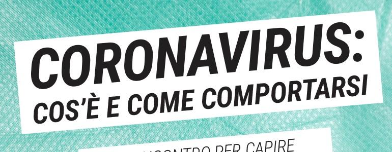 Coronavirus, in aula Magna l'incontro per la comunità e la cittadinanza (diretta)