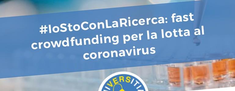Ricerca coronavirus, dall'Università di Pavia la campagna crowdfunding. Superati i 68mila euro, più di 500 donazioni