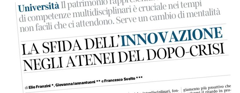 Università di Pavia, Statale e Bicocca: sul Corriere la lettera dei tre rettori