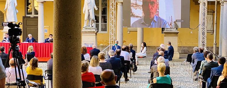 """All'Università di Pavia si parla di """"prospettive di una città universitaria tra eredità culturale e innovazione"""" (video)"""